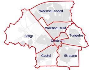 Afbeeldingsresultaat voor stadsdelen eindhoven